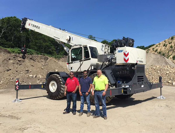 Empire Diesel Engine Crane Company has sold a 2017 Terex RT555 to Keith Grimes Inc. located in Bridgehampton, N.Y.