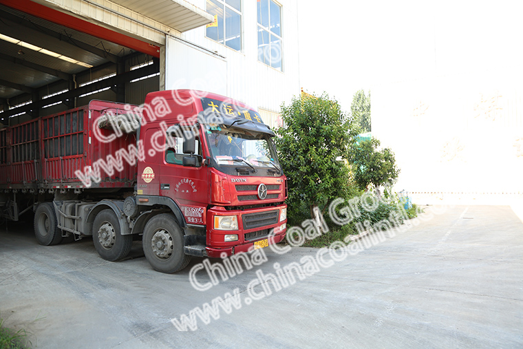 China Coal Group Sent A Batch Of Mortar Spraying Mahcines To Chizhou City Anhui Province